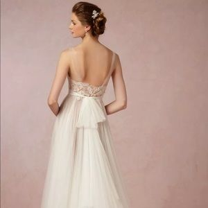 BHLDN Penelope wedding dress / gown size 0